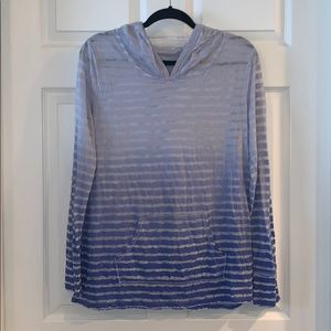 Calvin Klein hooded athletic top Large